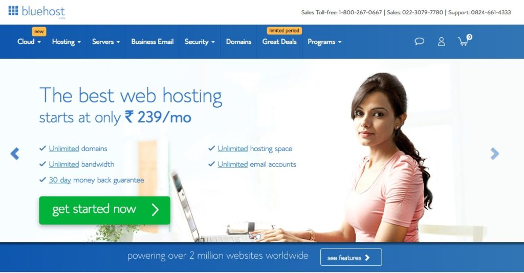 bluehost-india